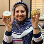 Tart caramel and Tart Rafaelo Sahar Shahsavari
