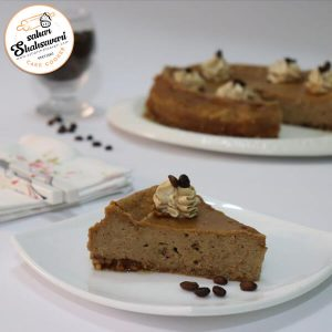 چیز کیک کاپوچینو