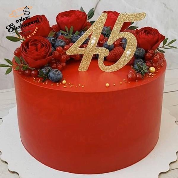 make red cake