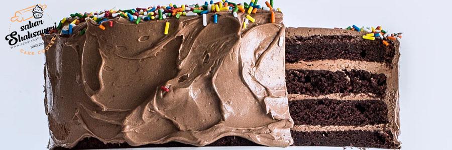 5 دلیل کج شدن کیک