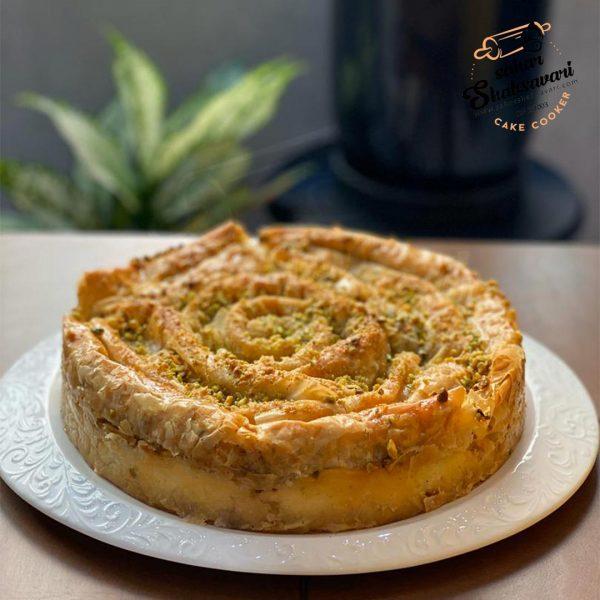 cheesecake baqlava